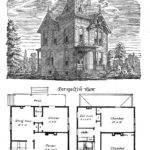 Antique Clip Art Victorian Houses Graphics Fairy