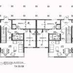 Apartment Blueprints Floor Duplex House Plans