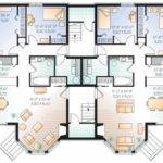 Apartment Building Blueprint Eplans New American House Plan Elegant