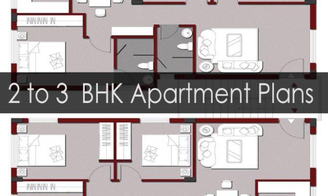 Apartment Building Floor Plans Bhk Flats