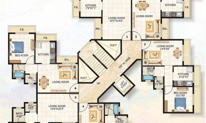 Apartment Building Floor Plans Gurus