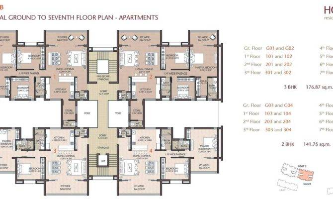 Apartment Building Plans Floor Cad Block