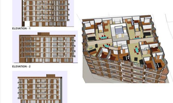 Apartment Building Plans Location Aksaray Turkey New