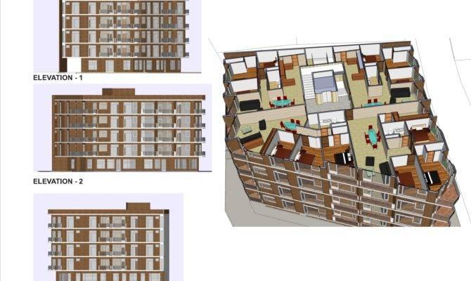 Apartment Building Plans Location Aksaray Turkey New