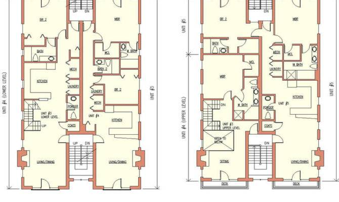 Apartment Building Plans Modern Home Blueprints