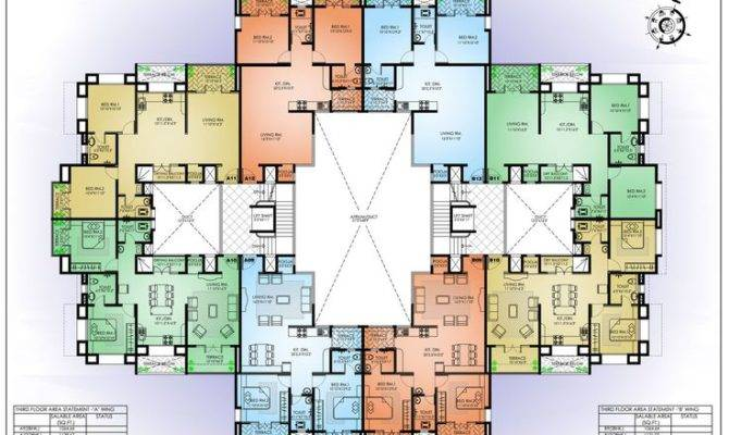 Apartment Construction Plans Homes Floor