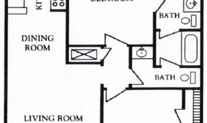 Apartment Floor Plan Architecture Bedroom