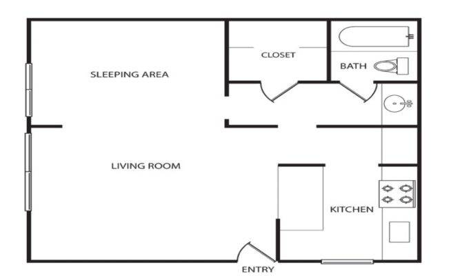 Apartment Floor Plan Layout