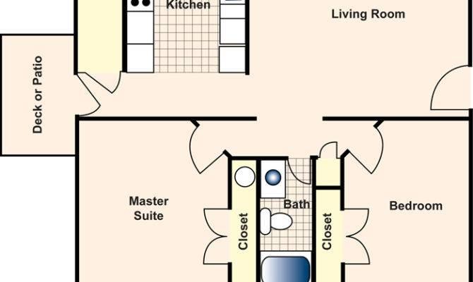 Apartment Floor Plan Square Foot Plans