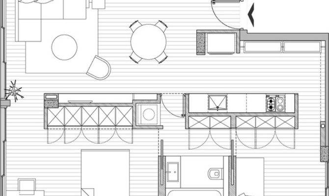 Apartment Sfaro Small Renovation Plans Home Design