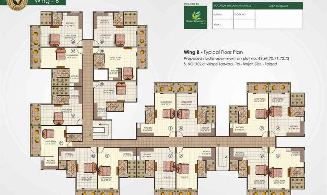 Apartment Studio Apartments Floor Plans Apt Plan