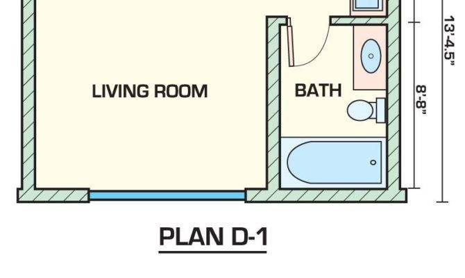Apartment Studio Apartments Plans Inside Small