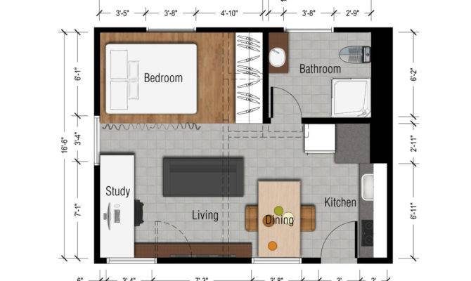 Apartments Apartment Weird Layout Tasty Small Studio