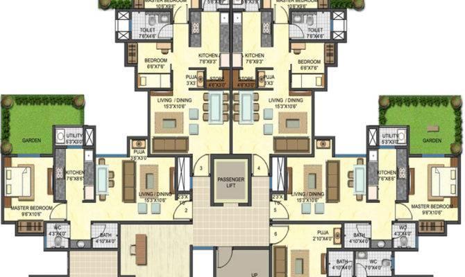 Apartments Floor Plans Design