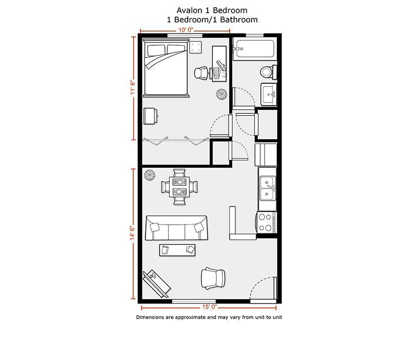 Apartments Floor Plans Rates Avalon House Plans 58083