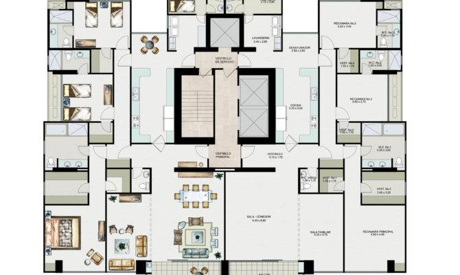 Apartments Interior Magnificent Apartment Plan Layout