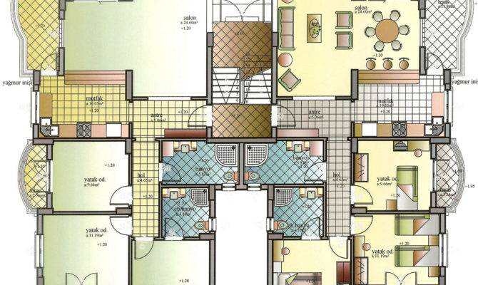 Apartments Modern Apartment Building Plans Best