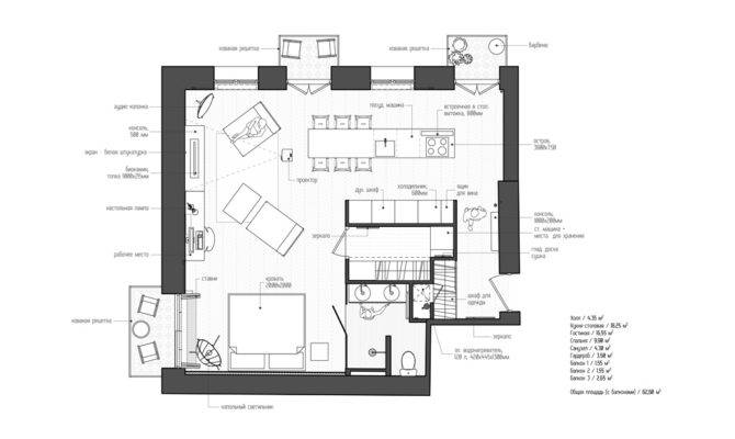 Apartments Small Studio Apartment Plan Awesome