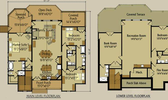 Appalachia Mountain House Floor Plan
