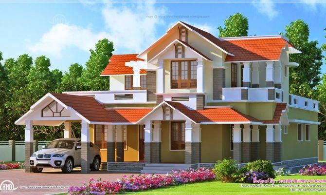 April Kerala Home Design Floor Plans