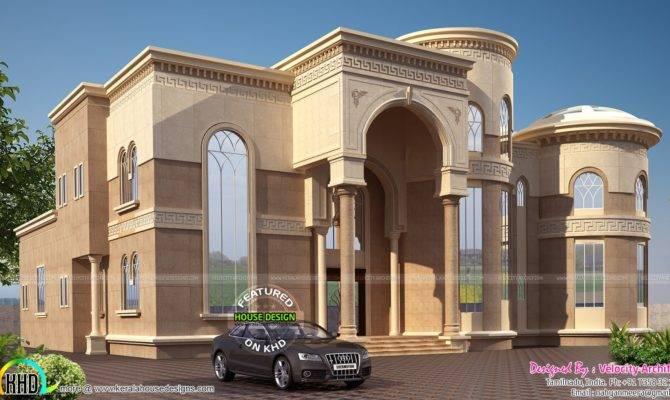 Arabian Model House Elevation Kerala Home Design