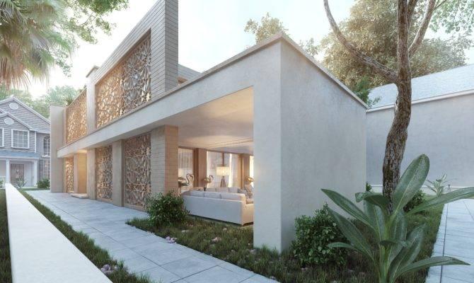 Arabic Modern House Mohamed Zakaria Design Ideas