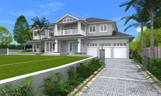 Architect Design Concept Hamptons Style Ives