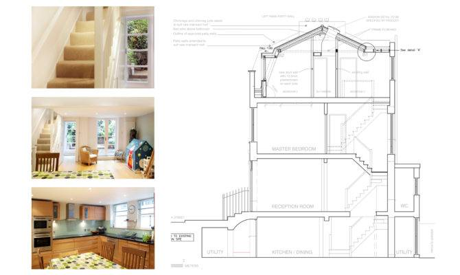 Architect Designed Mansard Roof House Extension Angel Islington