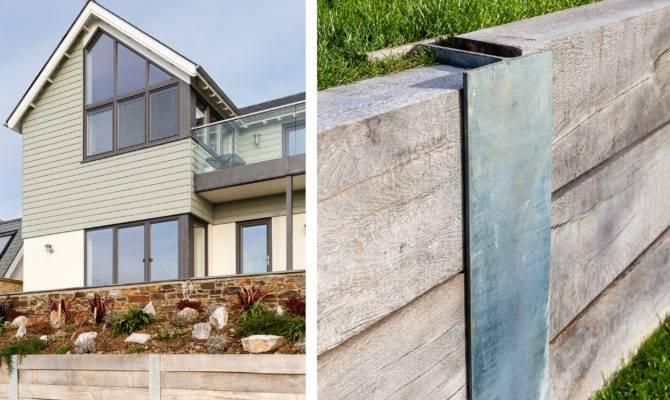 Architect Designed New Salcombe Coastal Home Timber Cladding