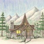 Architects Hendricks Architecture Idaho Storybook Cabin Plan