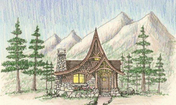 Architects Hendricks Architecture Idaho Storybook Cabin Plan