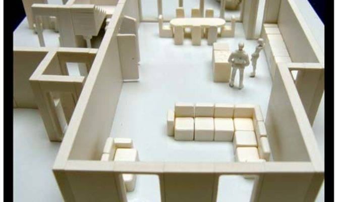 Architects Model Kit Create Scale House Interior