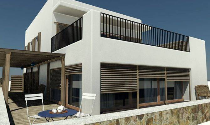 Architectural Beach House Plans