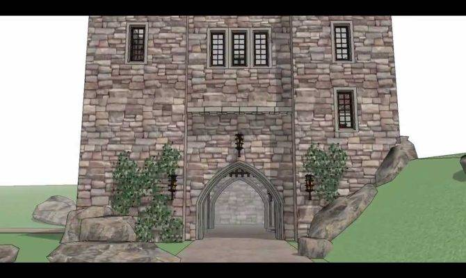 Architectural Designs Castle House Plan Youtube
