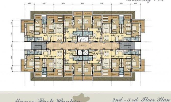 Architectural Designs Unit Apartment Building Plans