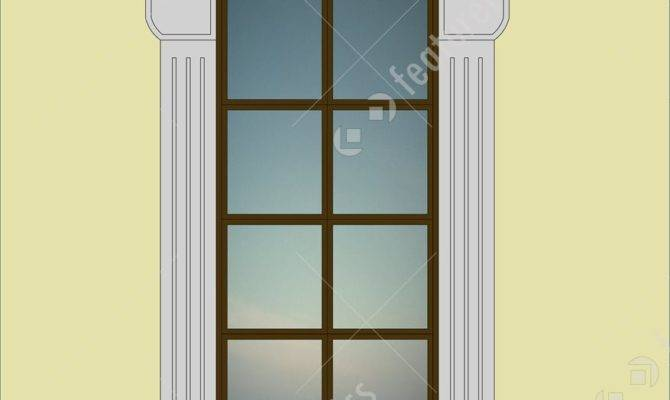 Architectural Details Neoclassical Windows