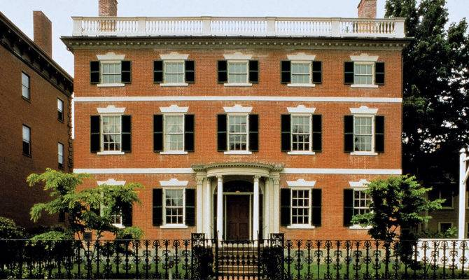 8 Wonderful American Georgian Architecture House Plans