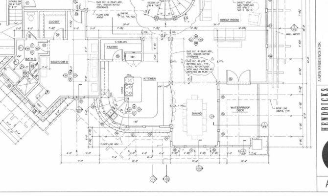 Architectural Plans Interior