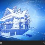 Architecture Design Blueprint Vector Bigstock