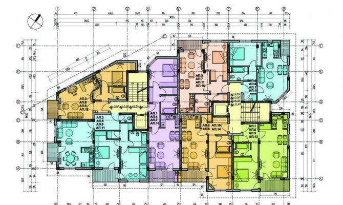 Architecture Floor Plans Interior