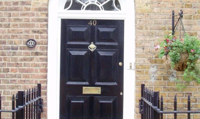Architecture Georgian Front Door Ornate Fanlight