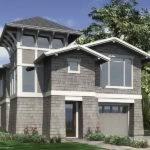 Architecture Interior Coastal Home Plan Gray
