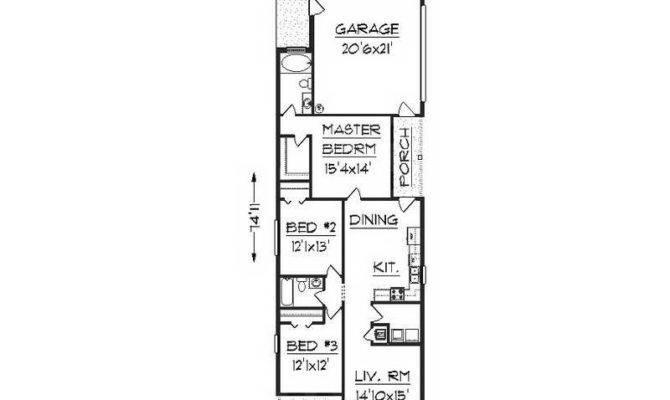 Architecture Narrow Lot Floor Plans Minimalist