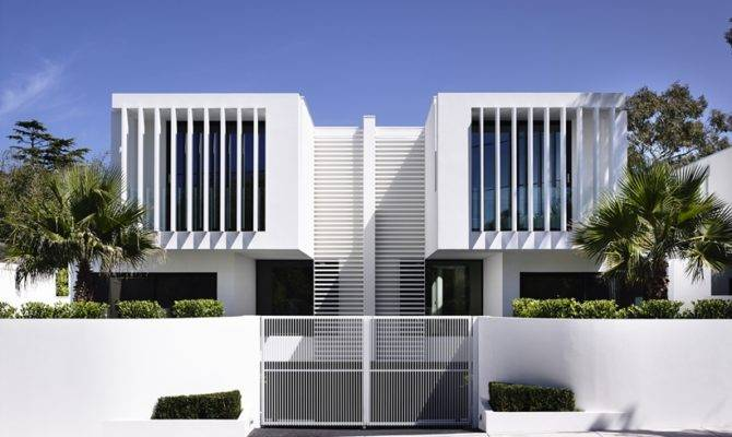 Architecture Perfect Modern Townhouse Martin Friedrich Architects