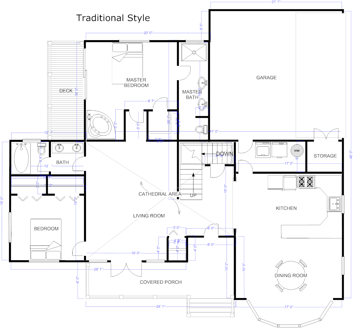 Architecture Software App House Plans 152001