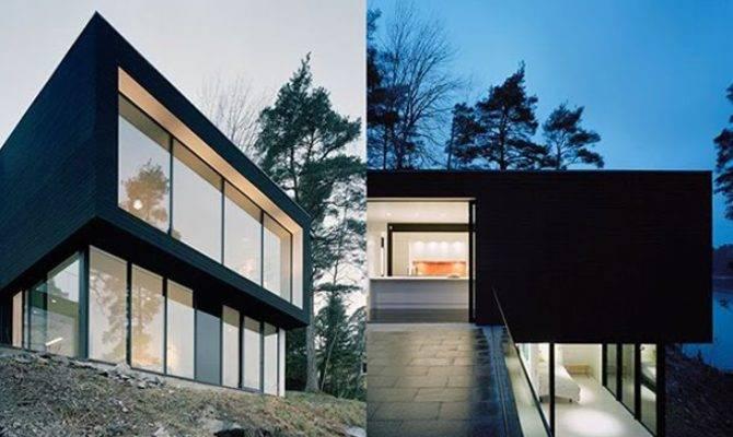 Architecture Ultra Modern Hillside House Design
