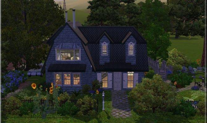 Arda Sims Old Timey House