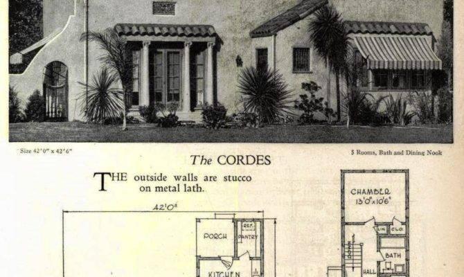 Art Deco House Floor Plans
