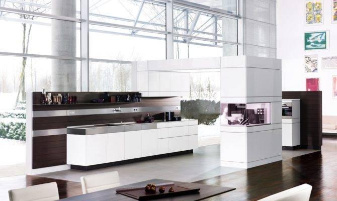 Artesio German Kitchen Design Modern Open Space Plan