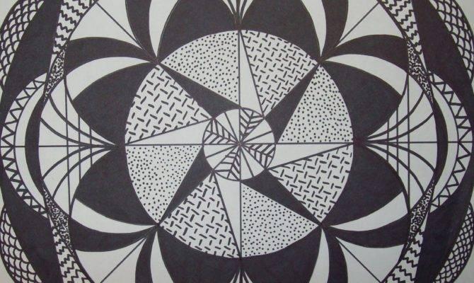 Artful Nest Heart Radial Symmetry